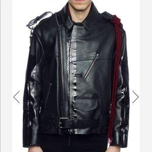Biker Jacket with Chain